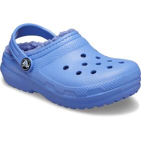 Crocs Classic Lined Clogs Zoccoli Bambino, blu